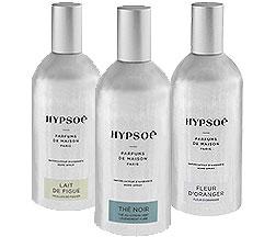 3 petits sprays Hypso� 120ml : Lait de Figue, Th� noir, Fleur d'oranger