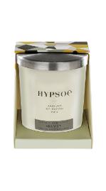 bougie parfumée silver cover parfum Velvet