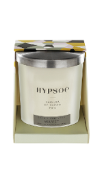 bougie parfum�e silver cover parfum Velvet