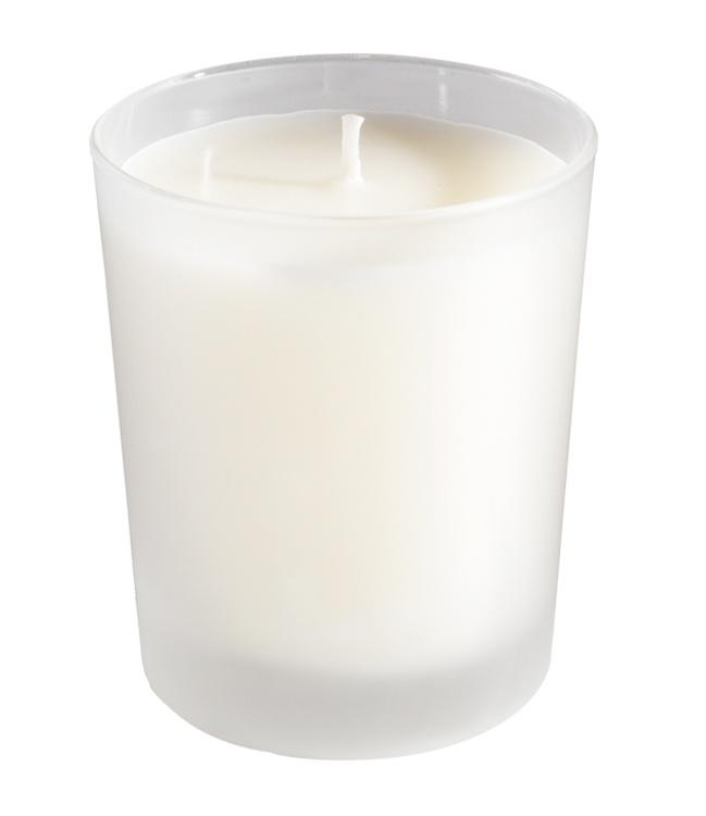 Bougie En Verre : bougie parfum e verre d poli blanc ~ Teatrodelosmanantiales.com Idées de Décoration