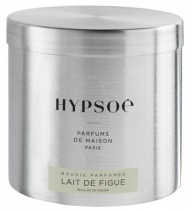 Scented candle in a big metal tin - Lait de figue