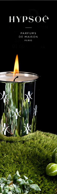 customized candle with silk-screening and printing mode