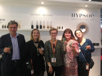 L'équipe Hypsoé : Salon Maison&Objet