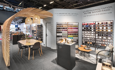 Stand Hypsoé - salon Maison&Objet janvier 2018
