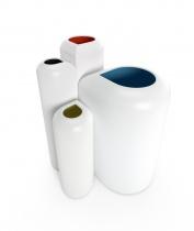 Blossom - 4 vases set