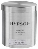 Bougie parfumée, recharge  boîte métal Wooden - Or blanc