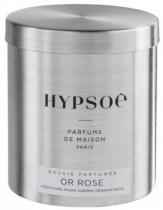 Bougie parfumée, recharge  boîte métal Wooden - Or rose