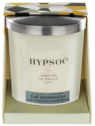 Bougie parfumée, silver cover - Thé Genmaicha
