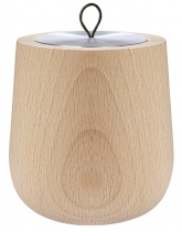 Bougie parfumée Wooden Naturelle, recharge boîte métal - Parfum à définir