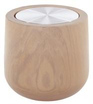Bougie parfumée Wooden XL Naturelle, recharge grande boîte métal - Parfum à choisir