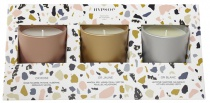 Coffret 3 bougies parfumées - Accords