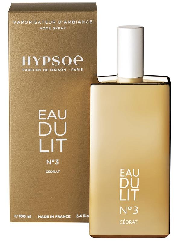 Eau du lit parfumée n°3 100 ml (or)
