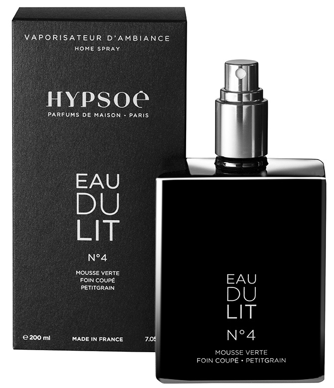 200ml perfumed Eau du lit n°4 (black)