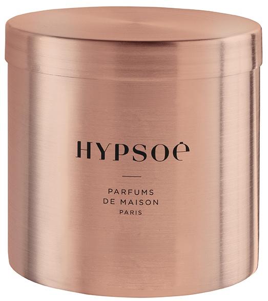 """Grande bougie parfumée """"Ambre Exquis"""" en cuivre massif"""
