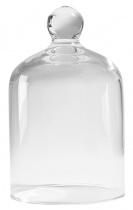 Grande cloche en verre pour bougie