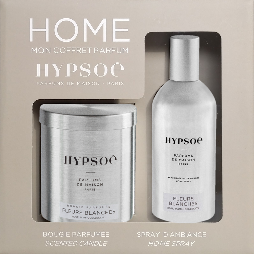 Home, my fragrance gift set Fleurs blanches