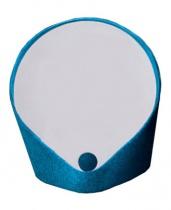 Miroir vide-poche Felt - Bleu de Prusse