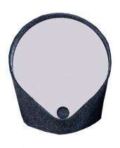Miroir vide-poche Felt - Gris anthracite