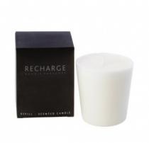 Recharge bougie parfumée pour verre