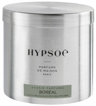 Scented candle in a big metal tin - Boréal