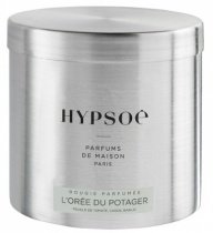 Scented candle in a big metal tin - L\'Orée du potager