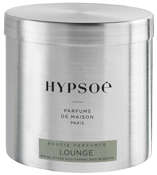 Scented candle in a big metal tin - Lounge