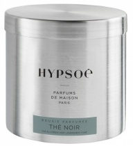 Scented candle in a big metal tin - Thé noir