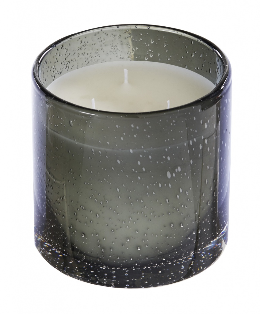 Storm scented candle – 550gr, 3 wicks – Thé Noir