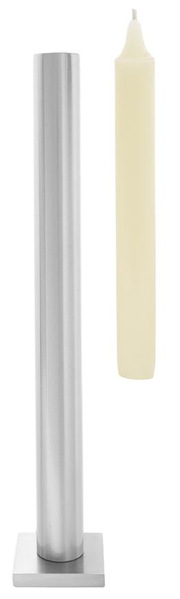 "Tall table \""Still\"" candlestick - Matt Silver"