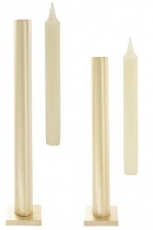 """Tall table """"Still"""" candlestick - Matt Gold"""
