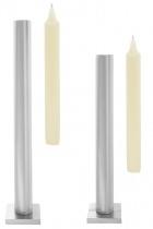 "Tall table ""Still"" candlestick - Matt Silver"