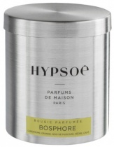 Wooden scented candle, refill in a metal tin - Bosphore